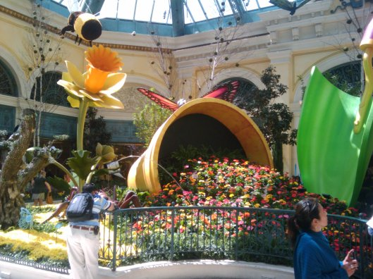Flowers at the Bellagio